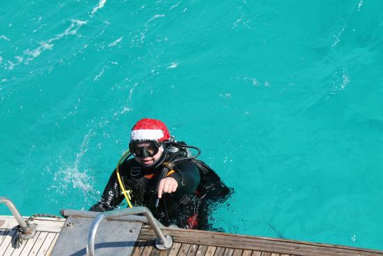 Funnydivers Diving Center: Дайвер Мороз