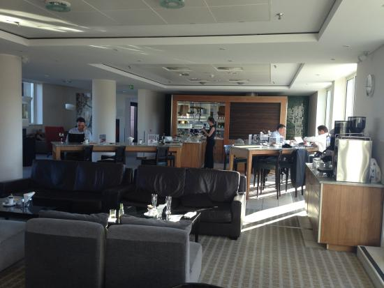 Sheraton Frankfurt Airport Hotel & Conference Center: but still the Club Lounge the very best