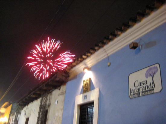 Hostel Restaurante Casa Jacaranda: New Year's Eve!