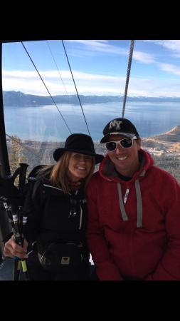 Black Tie Ski Rentals of South Lake Tahoe: Heavenly Gondola-Jan 2015