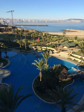 Movenpick Hotel & Casino Malabata Tanger: view from balcony