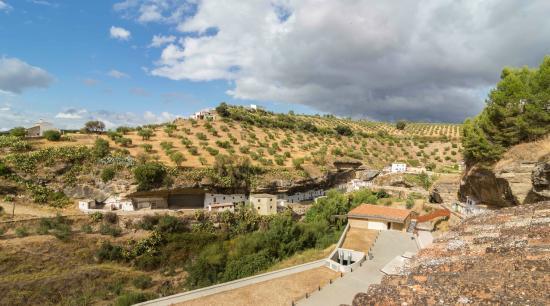 Hotel Villa de Setenil: Vistas desde las habitaciones
