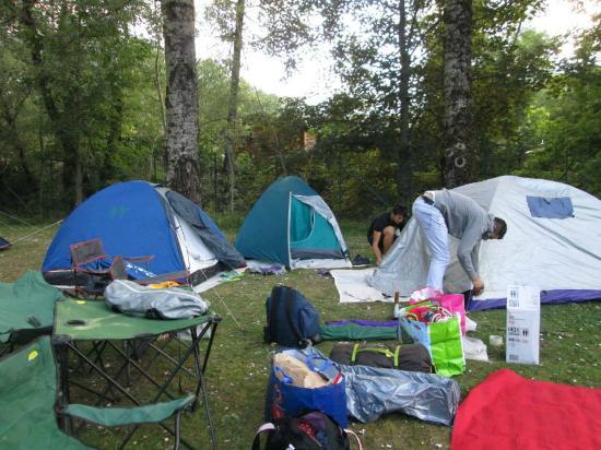 Camping Sant'Andrea: le nostre tende