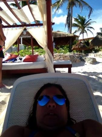 O conforto da praia - Picture of Grand Bahia Principe Coba, Akumal ... 0f7254b042