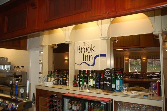 Inside the Brook Inn