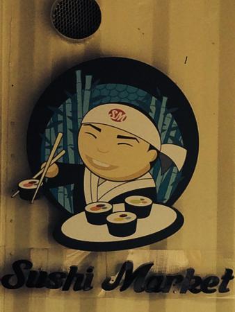 Sushi Market: Muy agradable el ambiente