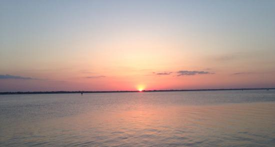 Hayley's Jet Ski and Boat Rental: sunset over the river @ Hayley's Boat Rentals