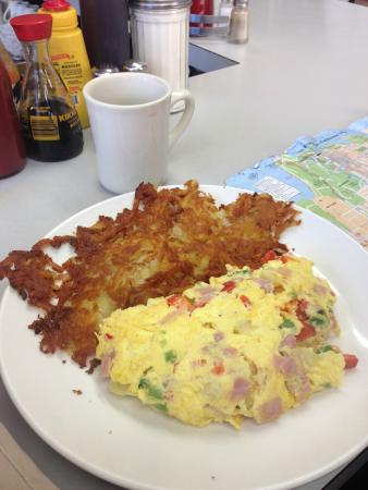 Golden Coffee Shop: Denver omelett