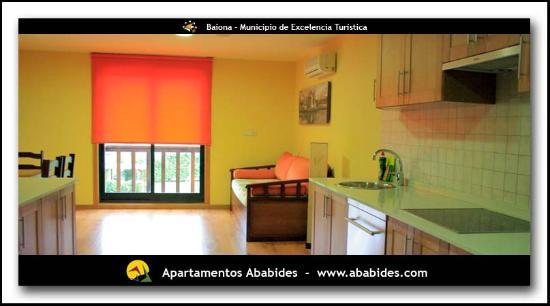 Apartamentos Ababides: Salon