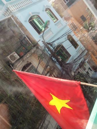 Hanoi Serendipity Hotel : Vista habitación del 2do piso