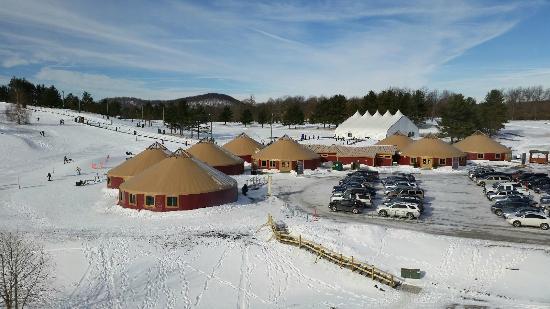 Wisp Resort Hotel and Conference Center : Yurt Village 2015