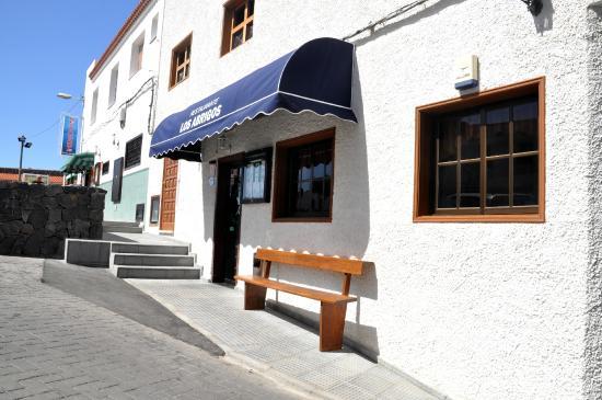 Vista Por La Segunda Entrada Picture Of Restaurante Los Abrigos Tripadvisor