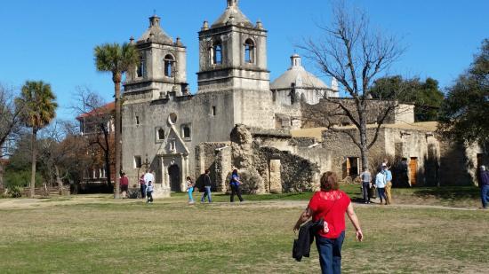 Alamo Trolley Tours: Mission Concepcion in San Antonio trolley tour