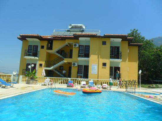 Koseoglu Hotel: Hotel from pool