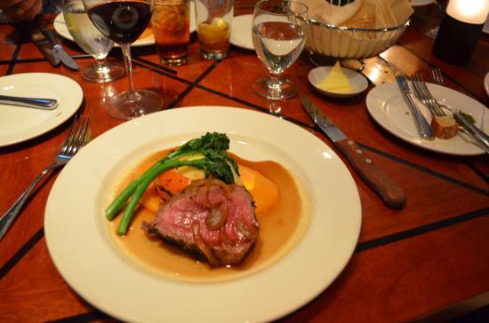 Quattro in Whistler : my steak