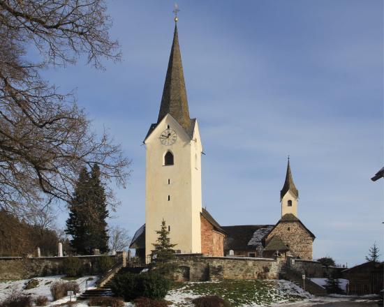 Karnburg, Австрия: Карнбург. Часовня Петра и Павла