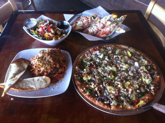 Palio's Pizza Cafe: Variety