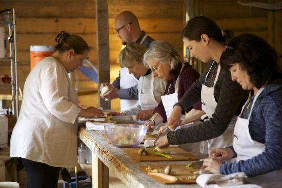 Tutka Bay Lodge: cooking school