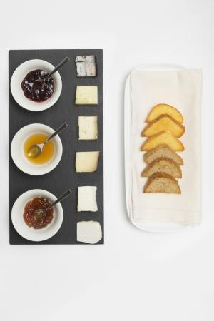 Antico Arco: Cheese Platter with Homemade Compotes