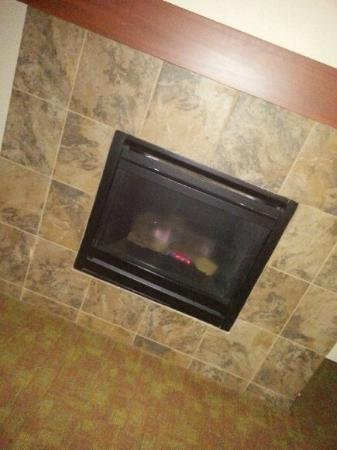 Hampton Inn Pigeon Forge: Fireplace in room with timer