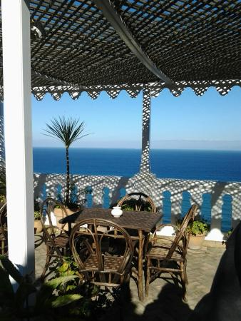 La Tangerina: The wonderful view at the terrace
