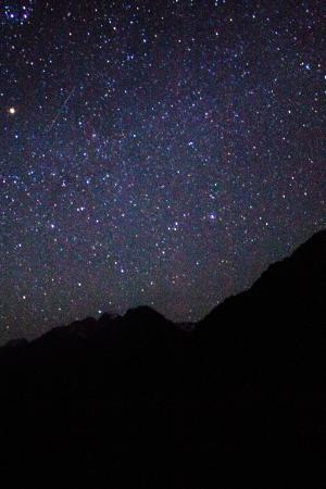 Sir Edmund Hillary Alpine Centre: First attempt at night sky photography