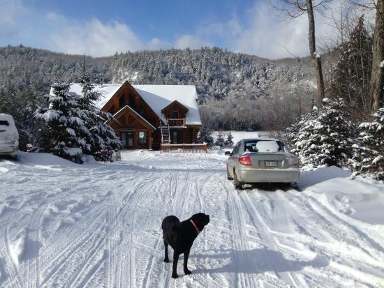 Duhamel, Καναδάς: The main chalet