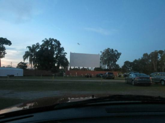 Ruskin Family Drive-In: View of the screen