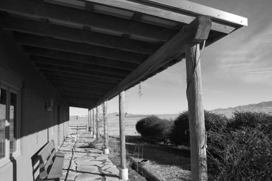 La Hacienda de Sonoita: East facing porch