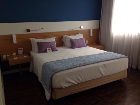 Quality Hotel Faria Lima: Quarto duplo