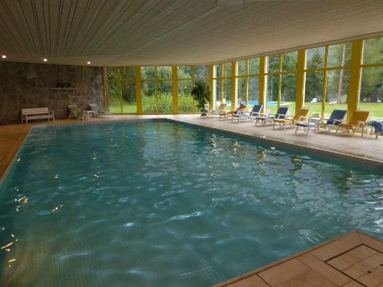 Grand Hotel Regina Grindelwald: Excellent pool