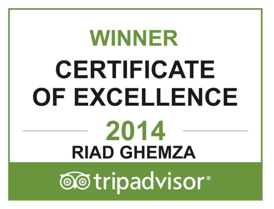 Riad Ghemza: Certificate of Excellence