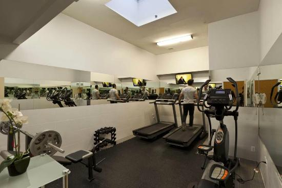 Pointe Plaza Hotel: Fitness Room