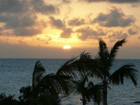 Barbuda Cottages : Sunset from the 3 bedroom cottage