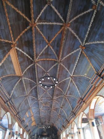 Iglesia de Santa María de Loreto: Ceiling - Santa Maria de Loreto - Achao