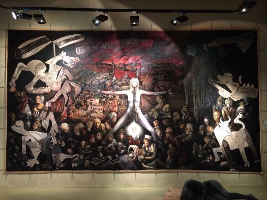 Museu Europeu d'art Modern - MEAM : My favourite piece in the whole museum, called Denver