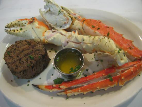 Runyon's Restaurant: Alaskan Kin Crab & Filet