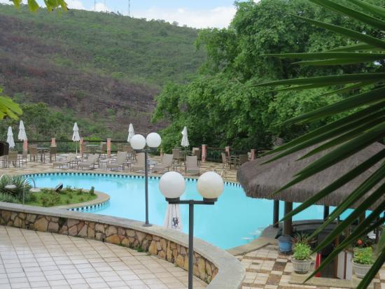 Portal Lencois Hotel: vista parcial da piscina