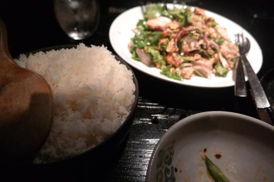 Spice Temple: Guangxi Pork salad