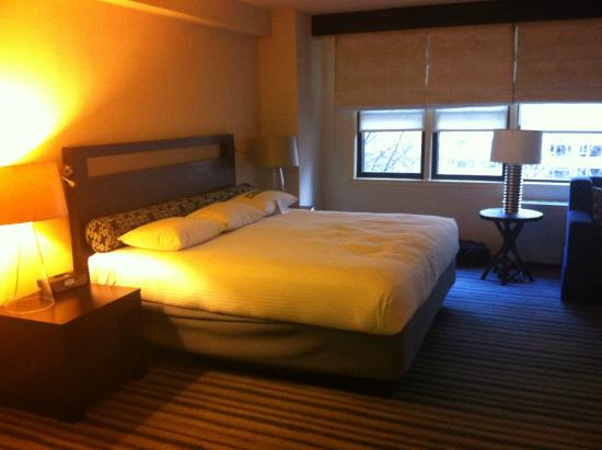 Gardens NYC–an Affinia hotel: Bed