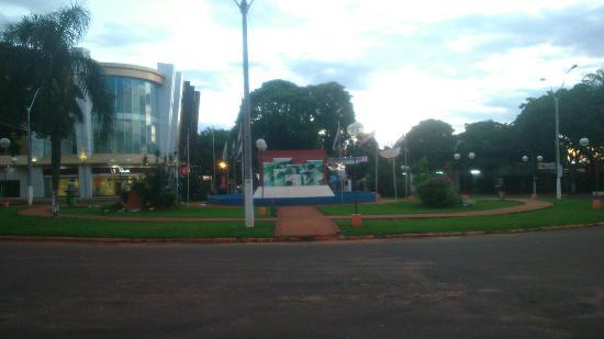 Salto del Guaira, Paraguai: Rotatória