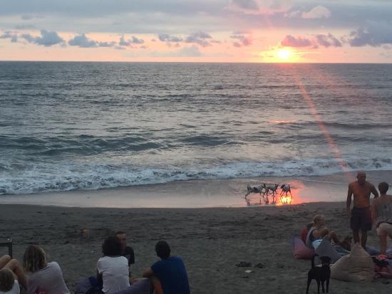 Villa Bali Asri Batubelig : Batu belig beach 2 minute walk from villas