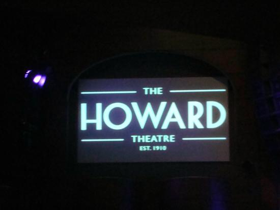 THE Howard Theatre...