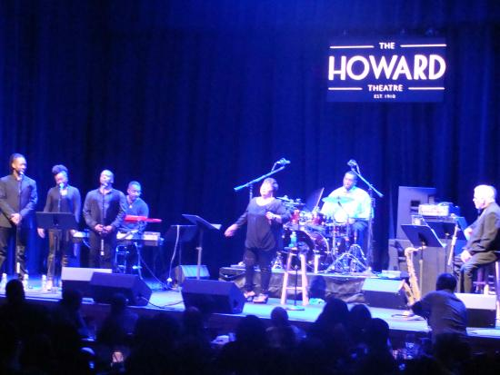 Howard Theatre: Ms. Ada Dyer and some of her band members.