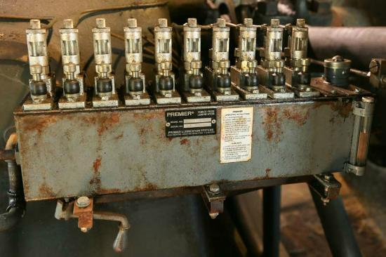 Burton Cotton Gin and Museum: Oiler on the Lady B