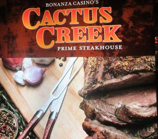 Cactus Creek Prime Steakhouse: Cactus Creek, Bonanza Casino, Reno, NV