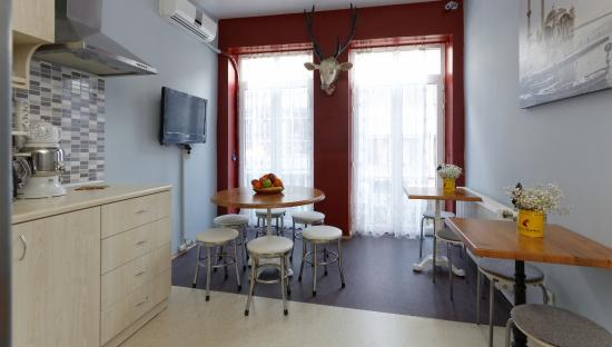Portus House Istanbul : Kitchen