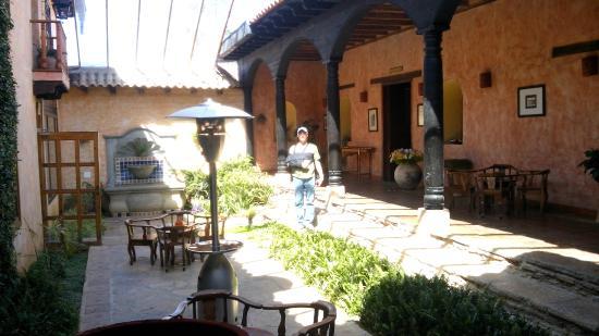 Hotel Casavieja: VISTA INTERIOR DE LOS JARDINES