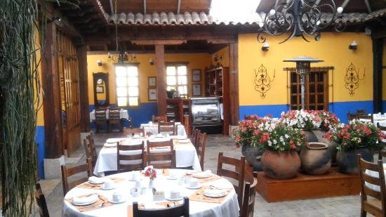 Hotel Casavieja: RESTAURANT