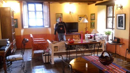 Hotel Casavieja: ZONA DE LECTURA , ES BELLISIMO